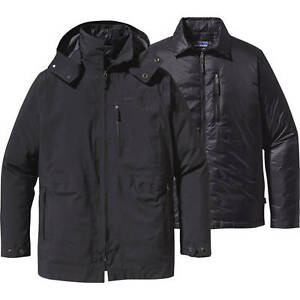 Patagonia Men Roys Bay 3-in-1 Insulated GORETEX Parka Jacket