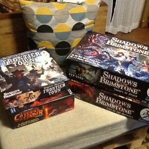 Shadows of Brimstone Board Game - Base games and 16 expansions