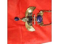 A unique Egyptian design neckless