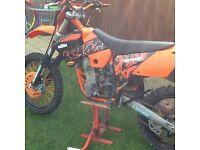 KTM 400 exc 2005 Road Legal Full Log Book MOT