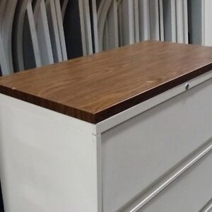 36in File Cabinet Wooden Top