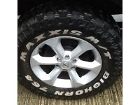 All terrain tyres 265/70/17 not very old as you can see due to time wasters now need the space