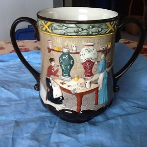 """Pottery In The Past"" Loving Cup"