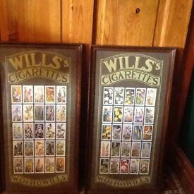 Cigarette cards wills