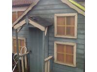Woodon playhouse
