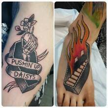Custom drawn tattoos at fixed prices in BRAND NEW TATTOO STUDIO! Richmond Yarra Area Preview
