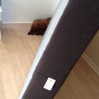 Queen Size Bed Base, Brown, fantastic condition 12 months old Mayfield East Newcastle Area Preview