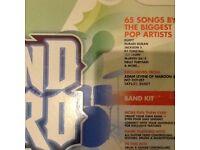 Nintendo Wii band Hero bundle