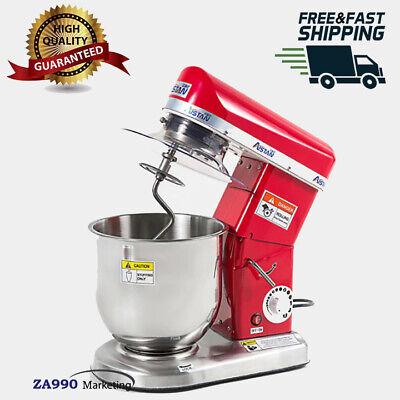 Electric 7.4 Quart Mixer Machine 3 Speed Bakery Kitchen Blender Food Kitchen  for sale  Shipping to Nigeria