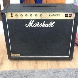 Marshall jcm 800 4104 valve amp