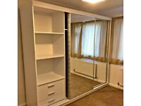🎁🎁 BRAND NEW SLIDING MIRRORED DOORS WARDROBES FOR SALE💖🚛💖