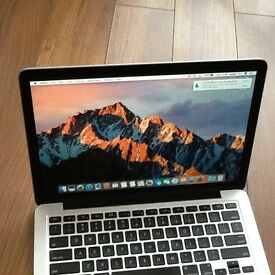 "MACBOOK PRO13 "" (RETINA) DISPLAY i5PROFESSIONAL ,SUPPER FAST MACHINE AS NEW CONDITION"