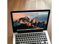"""MACBOOK PRO13 """" (RETINA) DISPLAY i5PROFESSIONAL ,SUPPER FAST MACHINE AS NEW CONDITION"""