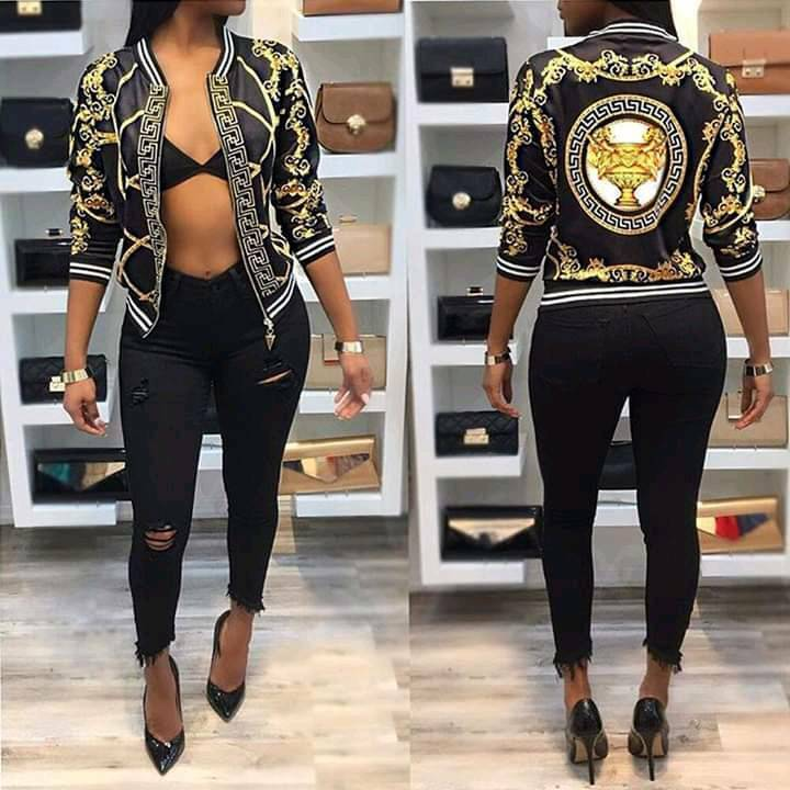 cd42eb9d0e Versace jacket women | in Leicester, Leicestershire | Gumtree