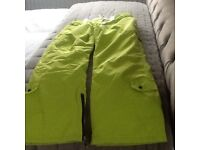 BRAND NEW THICK PADDED SKI PANTS SIZE 14 AND 16