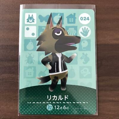 Kyle #024 Villager Amiibo Card ACNL Animal Crossing HH New Horizons 000