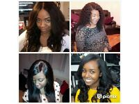 Hair Stylist (Caucasian & African Caribbean HAIR EXTENSIONS from £8) and Clothes Alteration services