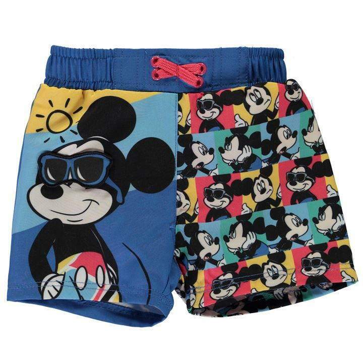 Disney Baby Mickey Mouse Jungen Badeshorts, Badehose, Schwimmhose Gr. 62-92