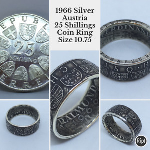 Custom Made Coin Rings For Sale