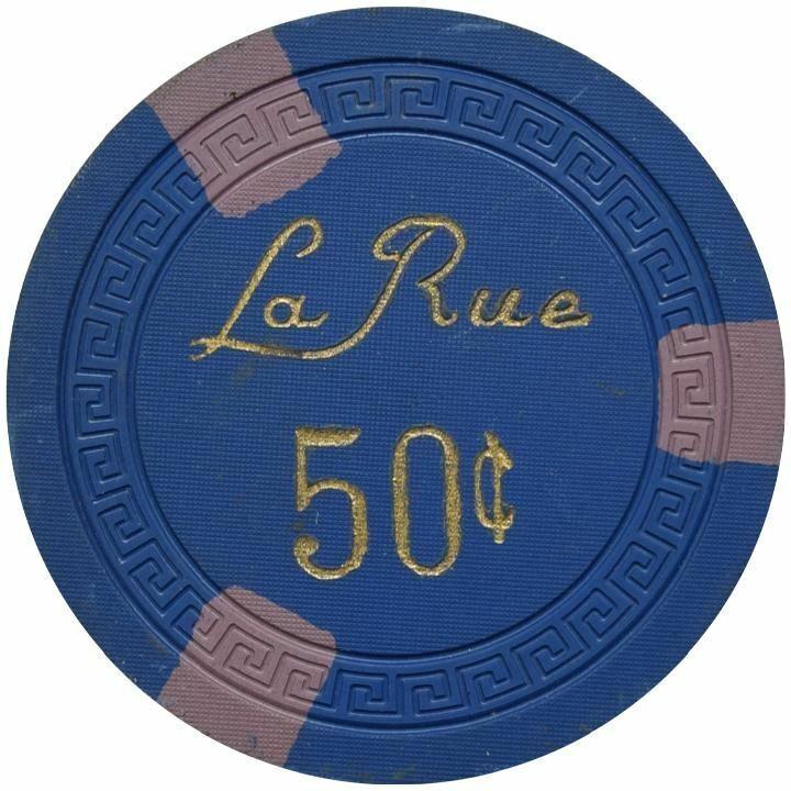 La Rue Casino Las Vegas NV 50 Cent Chip 1950