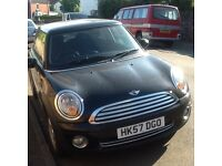 BMW MINI ONE. PETROL. BRAND NEW FRONT TYRES. MOT until July 2017