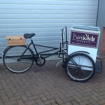 Ice Cream Bike-Vintage style, with freezer.
