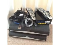 sky plus HD Boxes and remotes etc