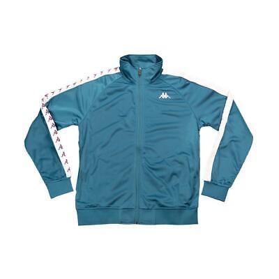 Kappa Mens Track Jacket Shirt 222 BANDA ANNISTON Athletic Gym Soccer S-XL $80