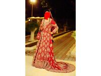Red Asian Wedding Dress RRP£3200