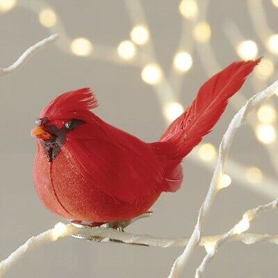 Cardinal Christmas Ornament (RAZ Imports 4