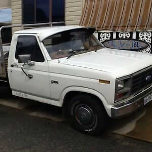 1985 Ford F100 Ute aluminuim tray towbar bucket seats, Furnissdale Murray Area Preview