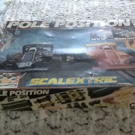 4 complete scalextric sets