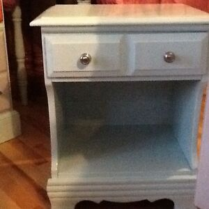 Single bed side tables $35 each
