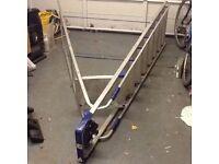 Abru Aluminium 8 rung platform stepladder 1.9m £35