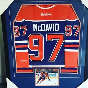 Custom Sports Jersey Framing