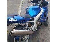 Zx9r ninja 900cc