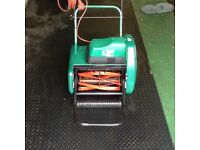 Suffolk Punch Cylinder Electric Lawnmower Model Windsor 12S