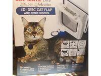 Cat door flap brand new unused cat mate elite ID disc cat flap model 305W