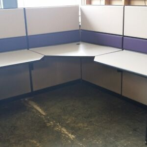 Used - Teknion Workstations