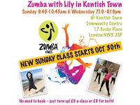 New Zumba fitness class starts this Sunday!