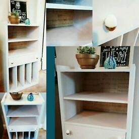 Retro vintage record cabinet