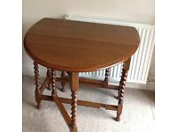 Waring and Gillow gate leg dining table