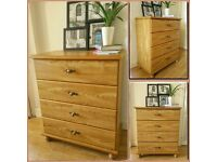 Stunning chest of drawers - set of four drawers