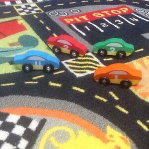 Melissa and Doug play mat with cars