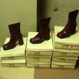 LOT women's brown boots (8 pairs)