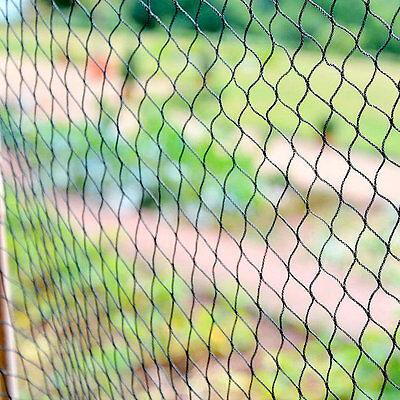 8m x 100m PN2 BLACK ANTI BIRD NETTING GARDEN POND FRUIT CAGE NET 18 x 18mm HOLES