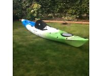 Perception Triumph 13 Kayak, Paddle & C-TUG Trolley