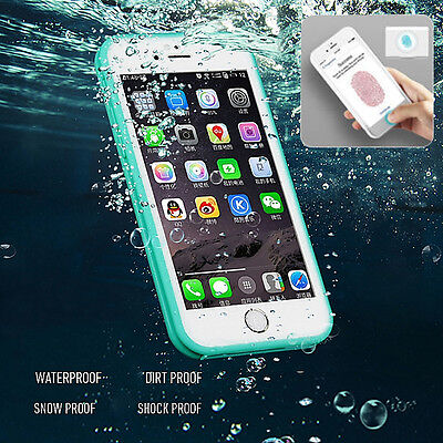 Waterproof ShockProof Hybrid Rubber TPU Case Cover For iPhone X  XS MAX XR 7/8S