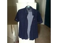 2 designer shirts,Ted Baker and Timberland,both sizeL,only worn twice,as new,bargain£8 the pair