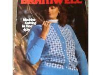Bramwell machine knitting in fine 4 ply